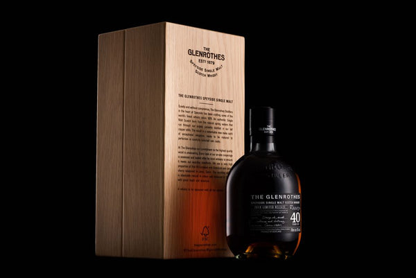 Glenrothes 40 year old single malt whisky