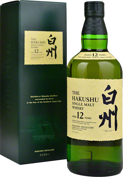 Hakushu Japanese single malt whisky