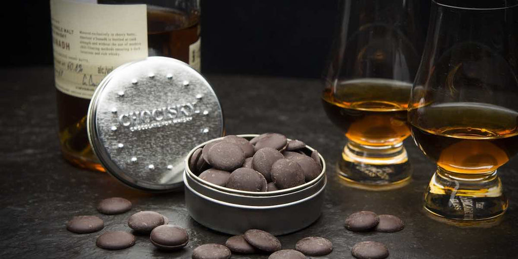 Chocisky Chocolates to pair with Scotch Whisky as a gift on Father's Day