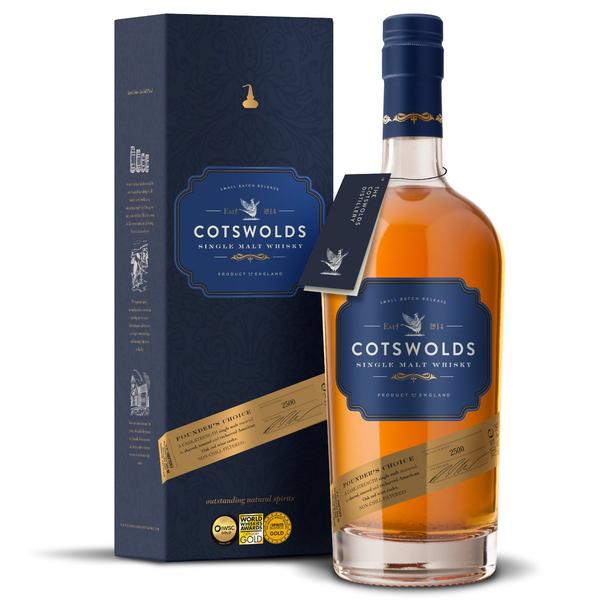 Cotswolds Distillery Founder's Choice Wins Best Whiskey In Show