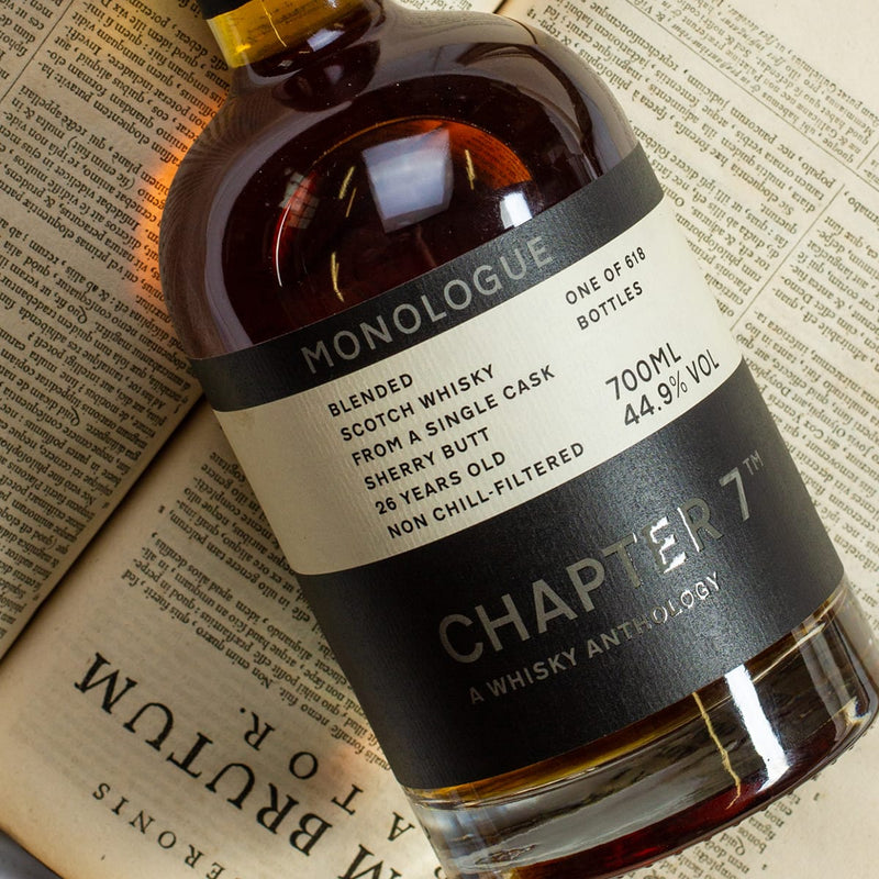 Single Cask whisky from Independent Bottler Chapter 7