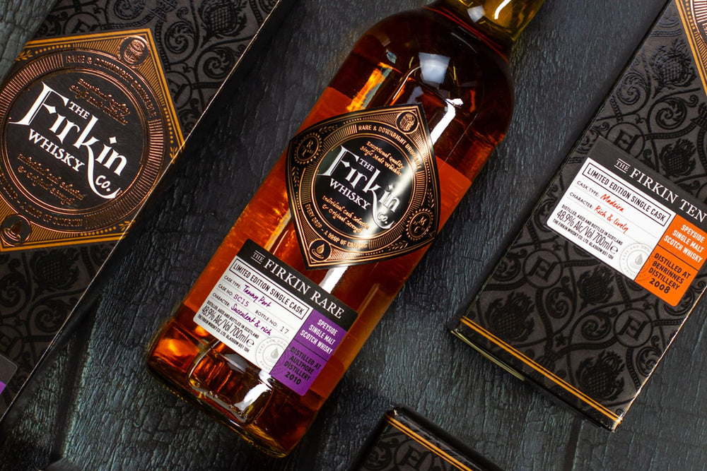 Craft whisky from independent bottler, The Firkin Whisky Co