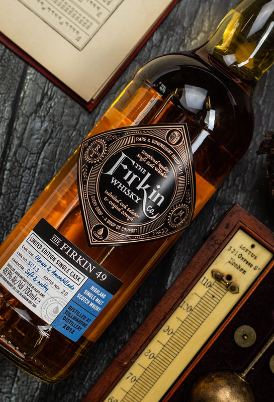 Premium Single Malt Scotch from The Firkin Whisky Co