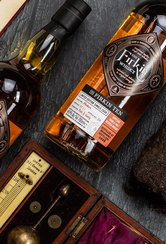 The Firkin Whisky Co craft single malt scotch
