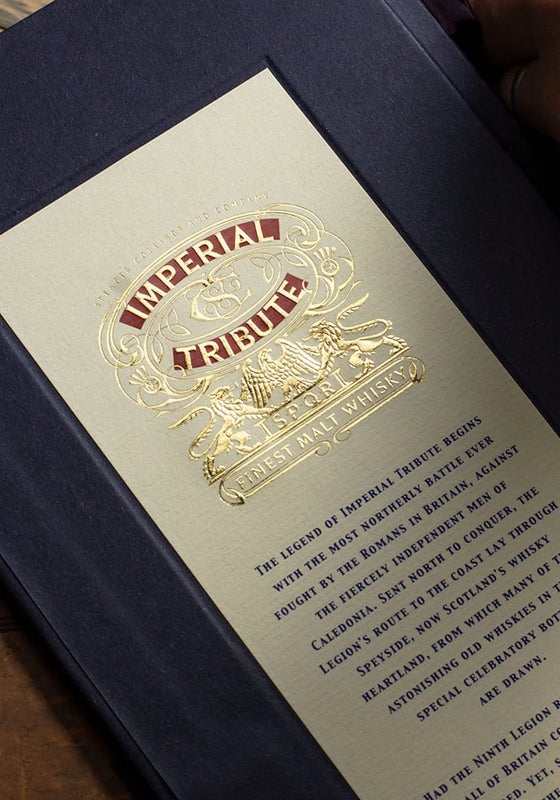 Premium Whisky Gift with a personalised box from Imperial Tribute