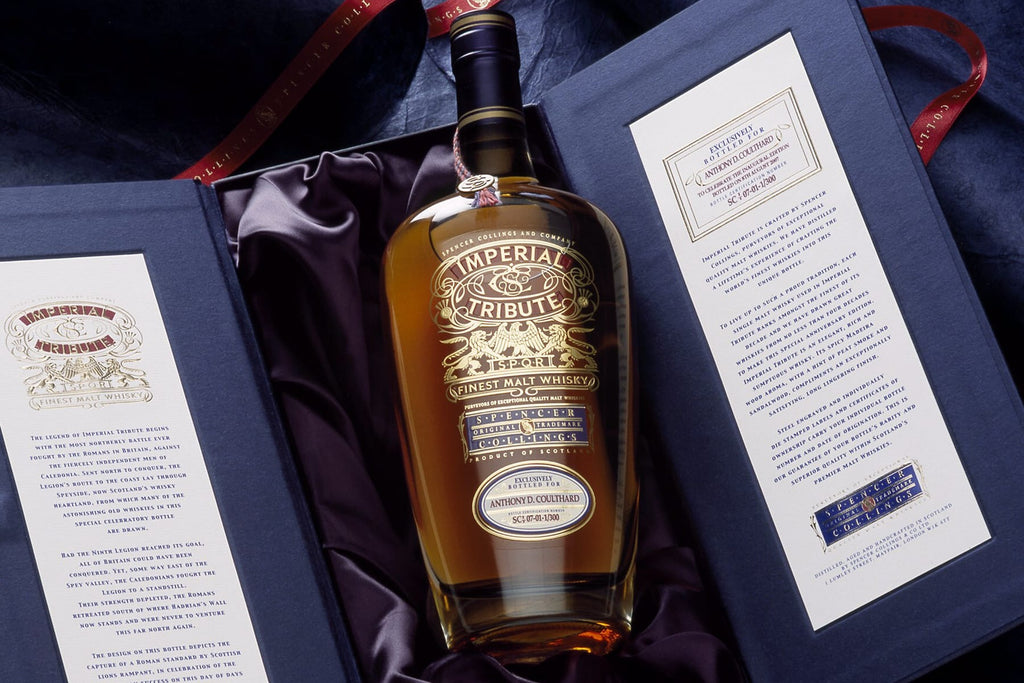 Imperial Tribute Whisky Gift in its box