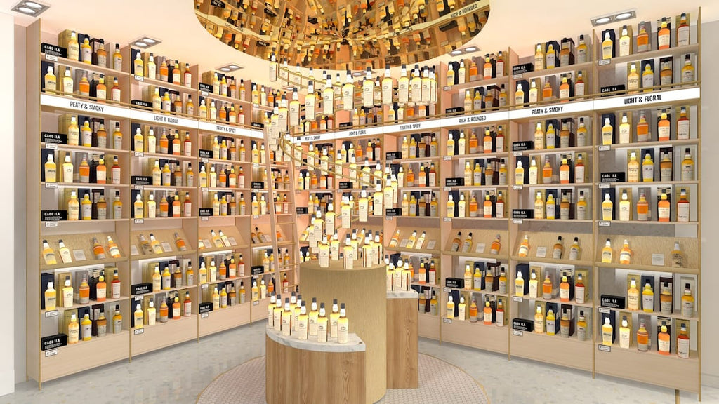 Johnnie Walker Princes Street Whisky Shop Collection Of Whiskies