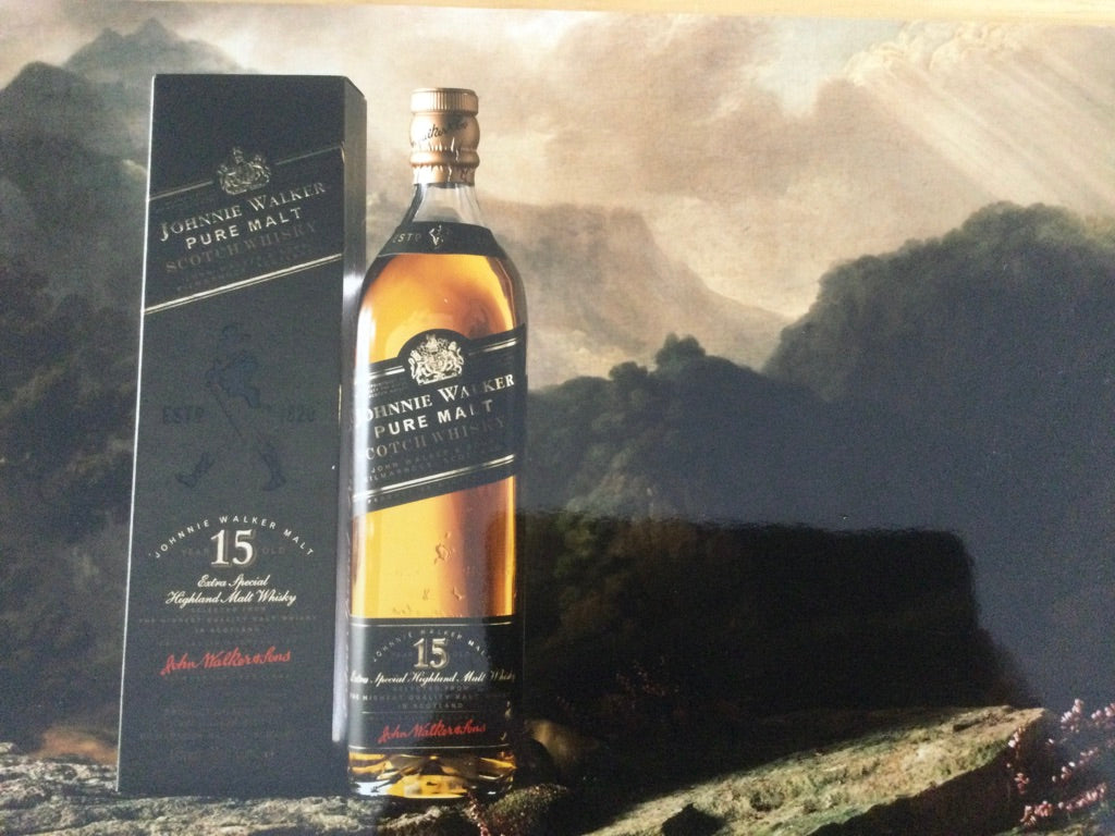 Johnnie Walker Pure Malt advert