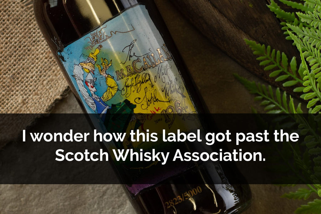 How did the label for Macallan private Eye get approved?