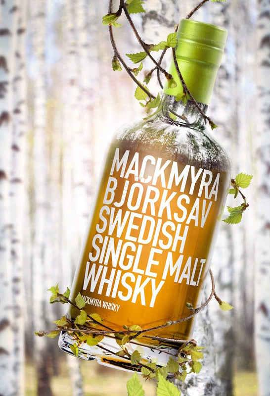 Mackmyra Bjorksav Swedish Single Malt Whisky Birch Sap Wine Cask