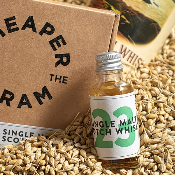 Premium single malt scotch whisky sample from Cheaper by the Dram