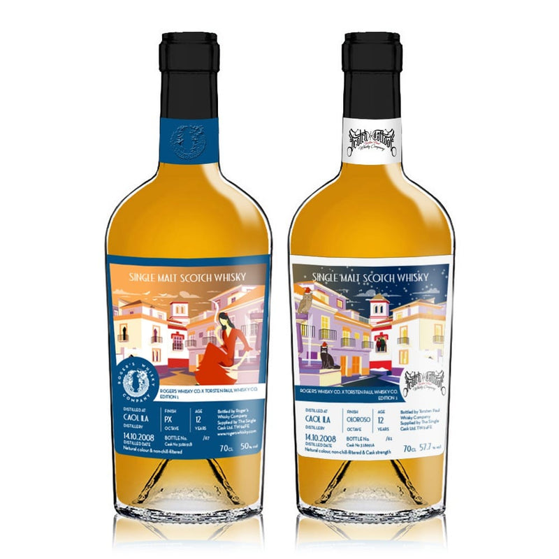 Roger's Whisky Company, Scotch and Tattoos, independent bottlers whisky collaboration