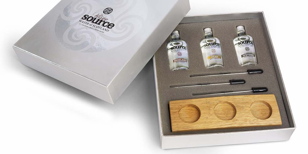 Uisge Source Regional Spring Water For Scotch Whisky Gift Set