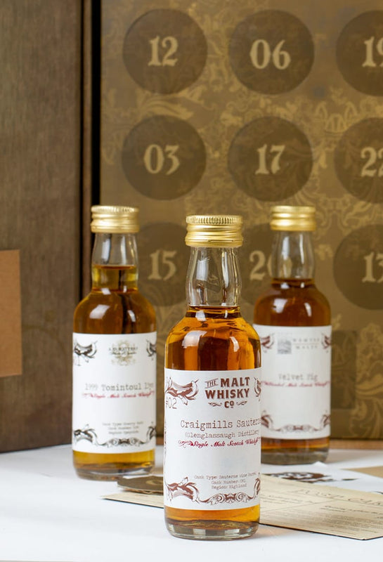 Luxury Whisky Advent Calendar from indie bottler, Secret Spirits