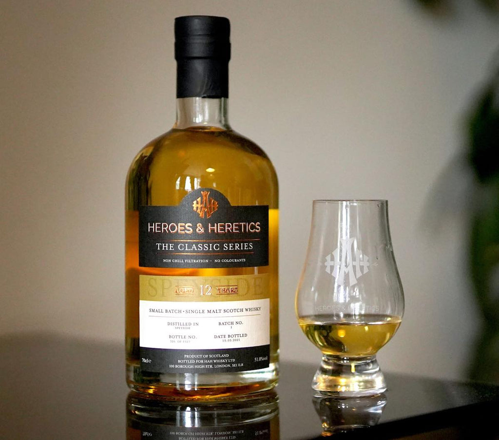 Heroes and Heretics The Classic Series, Speyside, Review and Tasting Notes