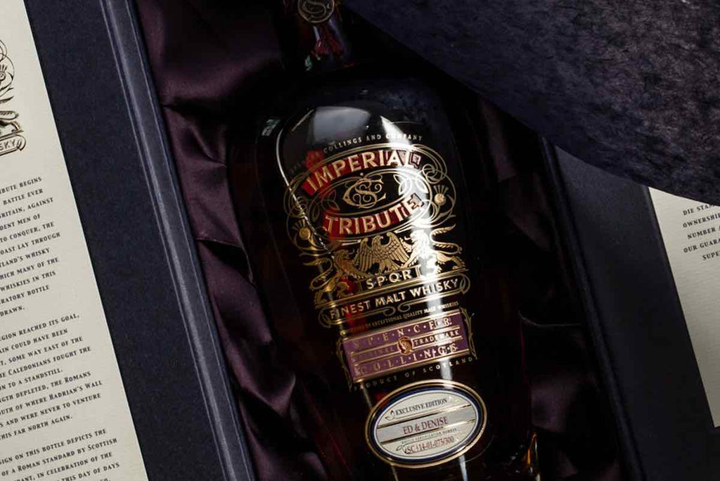 Imperial Tribute Personalised Scotch Whisky As A Gift For Dad On Father's Day