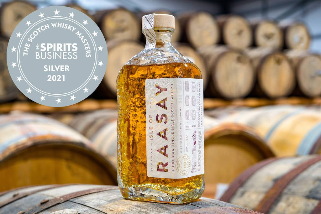 Isle of Raasay Single Malt Wins Scotch Whisky Masters 2021 Silver Medal