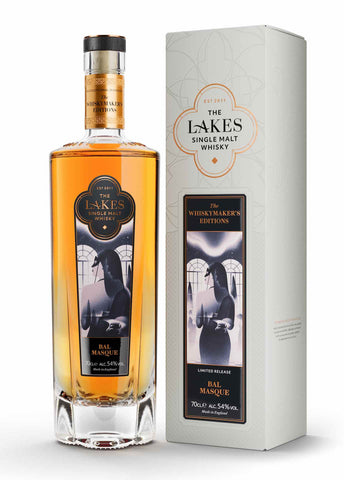 Lakes Distillery Whiskymaker's Editions Bal Masque Review and Tasting Notes