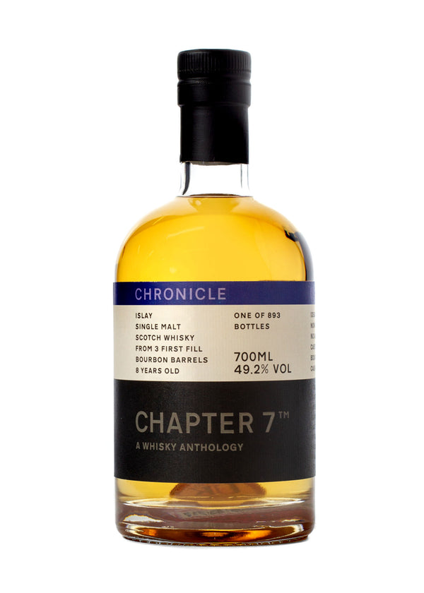 Chapter 7 Chronicle 8 Year Old Small Batch Scotch Whisky