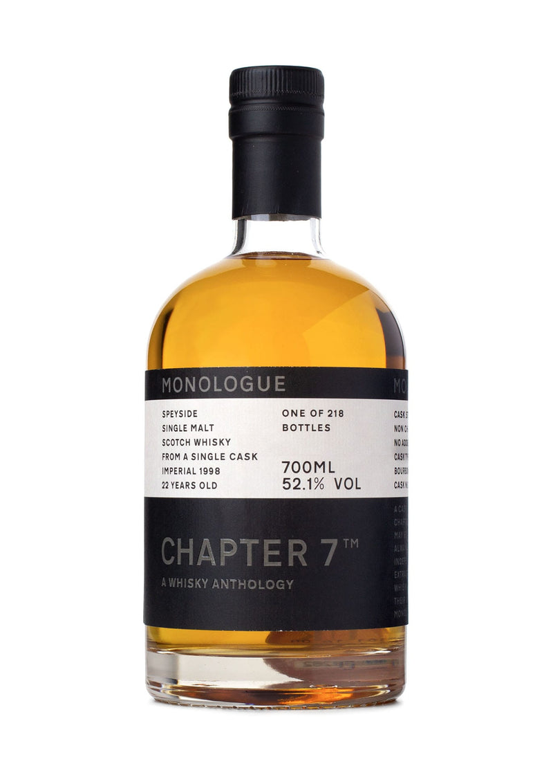 Chapter 7 Imperial 22 Single Malt Scotch Whisky Front