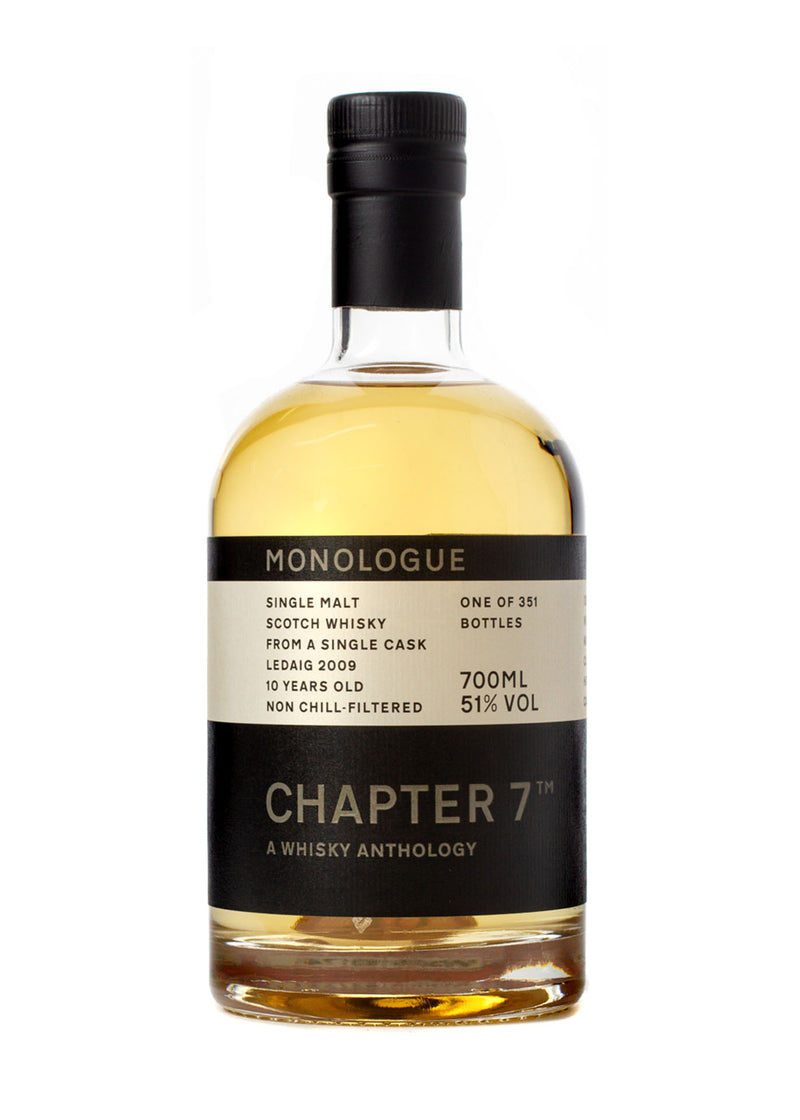 Chapter 7 Monologue Ledaig 10 Year Old Single Malt Scotch Whisky