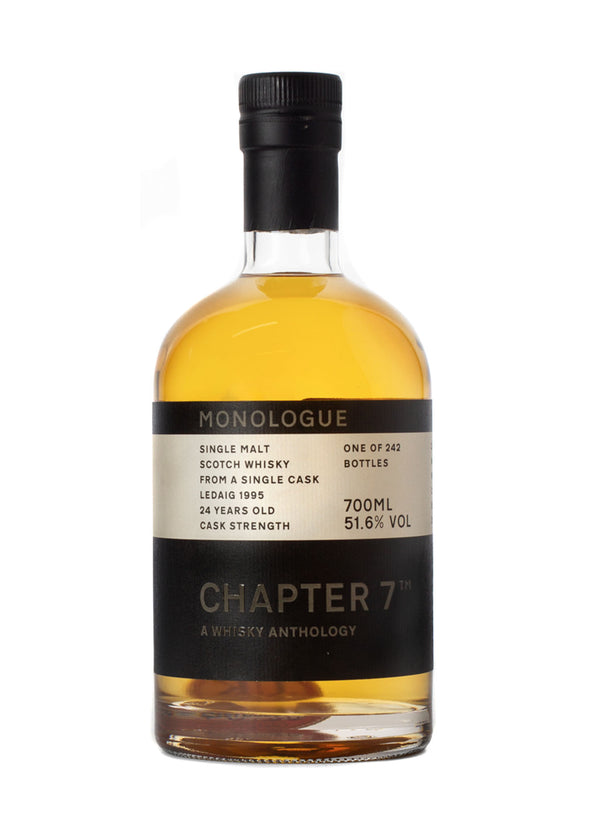 Chapter 7 Monologue Ledaig 24 Year Old Single Malt Scotch Whisky