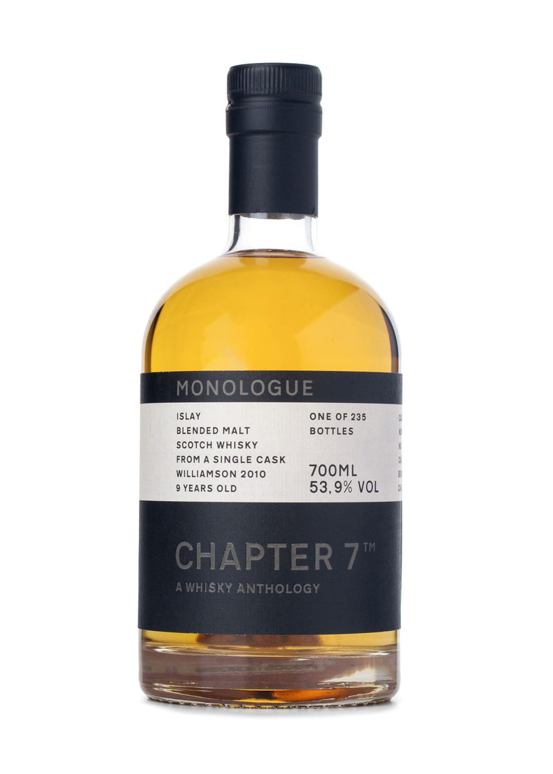 Chapter 7 Williamson 9 Single Malt Scotch Whisky Front