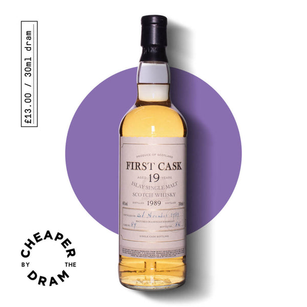 Cheaper By The Dram No.11, Bruichladdic 19 year old single malt scotch whisky, bottle