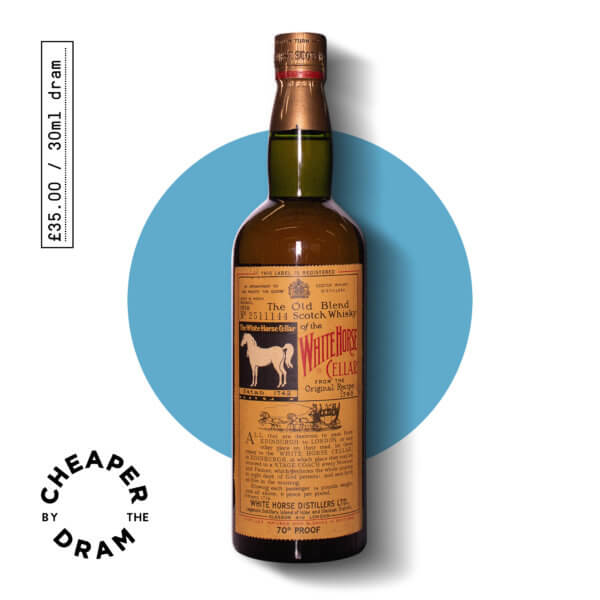 Cheaper By The Dram No.08, White Horse 1958 blended whisky, bottle