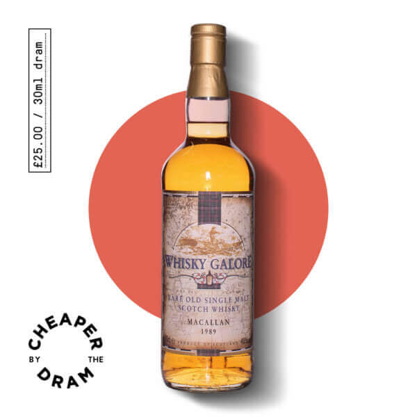 Cheaper By The Dram No.16, Duncan Taylor Whisky Galare Macallan old single malt scotch whisky, bottle