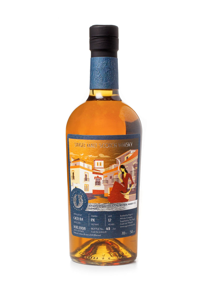Caol Ila 12 Year Old Scotch Whisky from Roger's Whisky Company