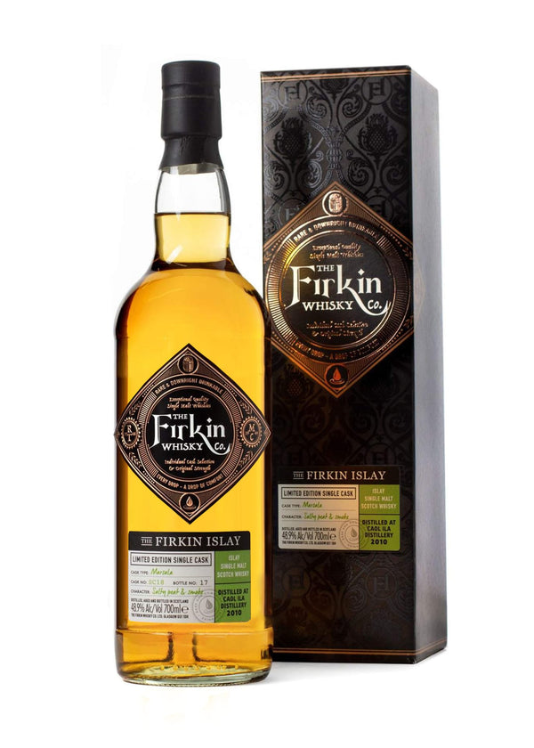 Firkin Islay Caol Isla Whisky in Marsala Cask Box