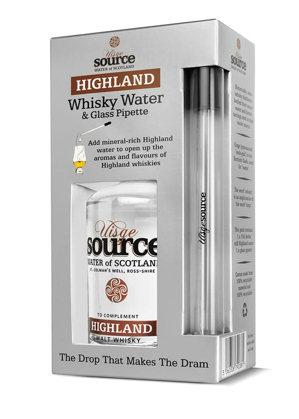 Highland Water Set For Whisky Tasting