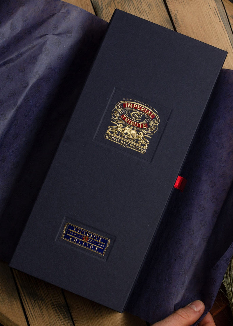 Best Whisky Gift unwrapped Imperial Tribute