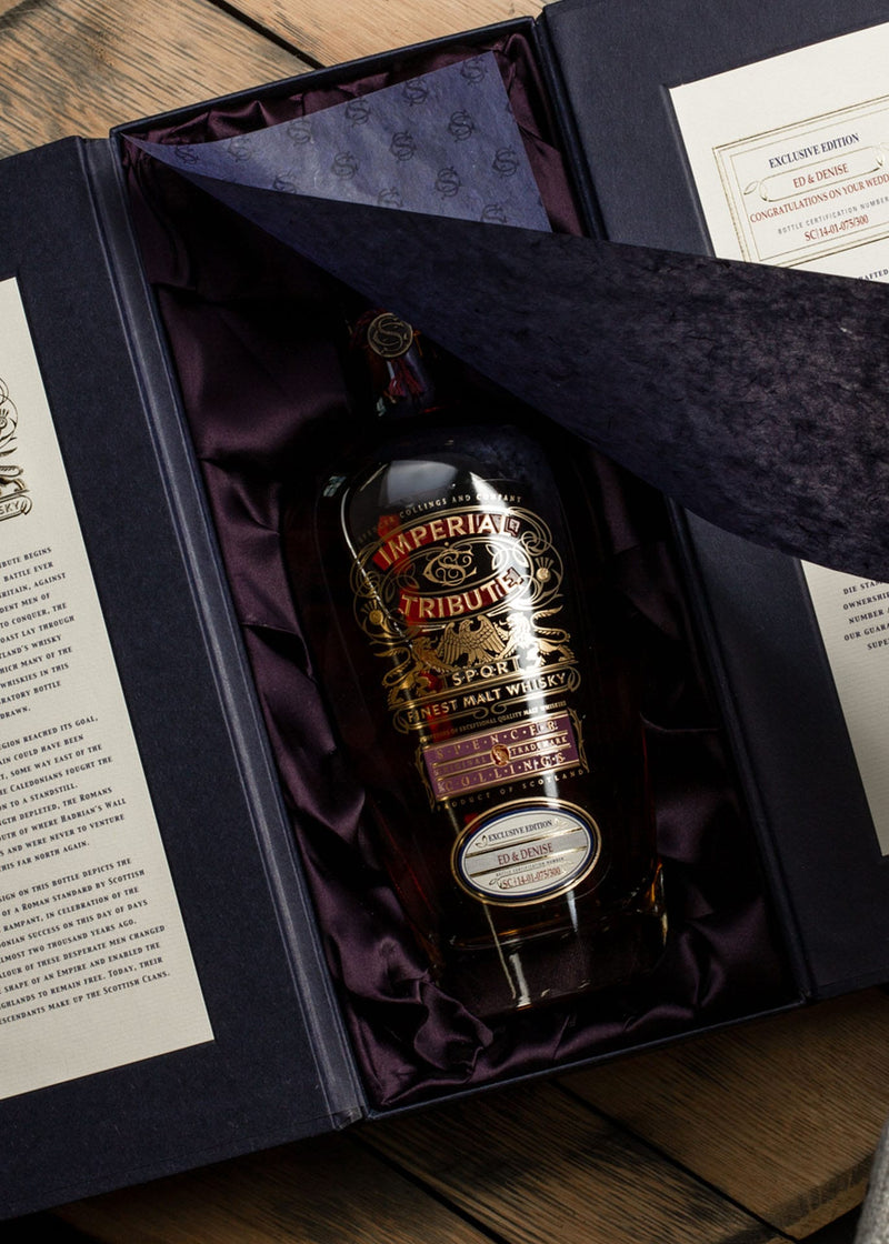 Great Whisky Gift in its beautiful box