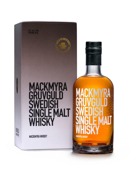 Mackmyra Gruvguld Swedish Single Malt Whisky