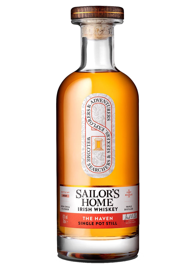 Sailor's Home: The Haven Single Pot Still Irish Whiskey