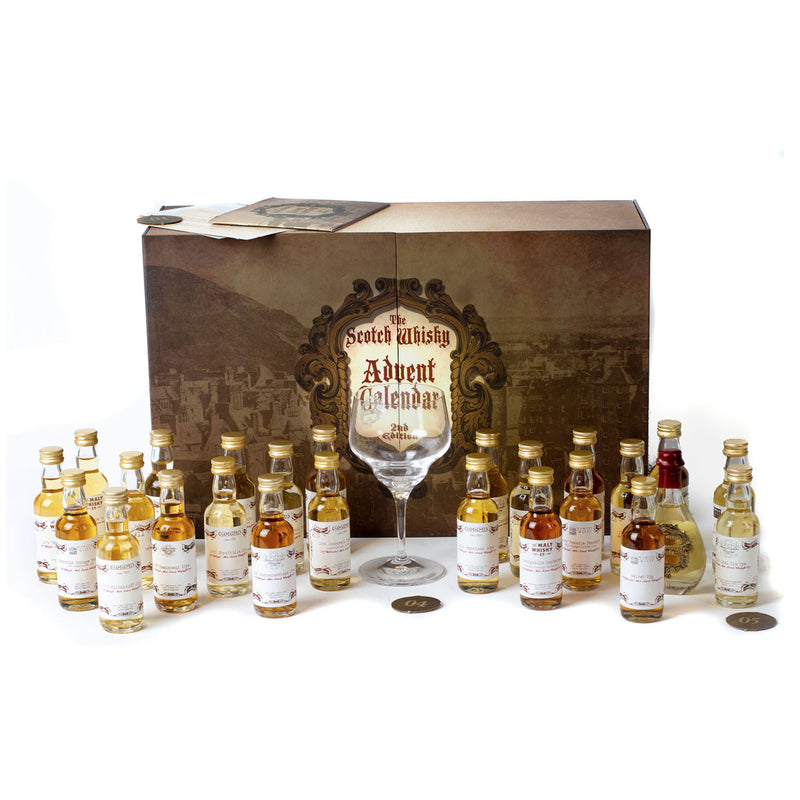 Secret Spirits Scotch Whisky Advent Calendar: 2nd Edition