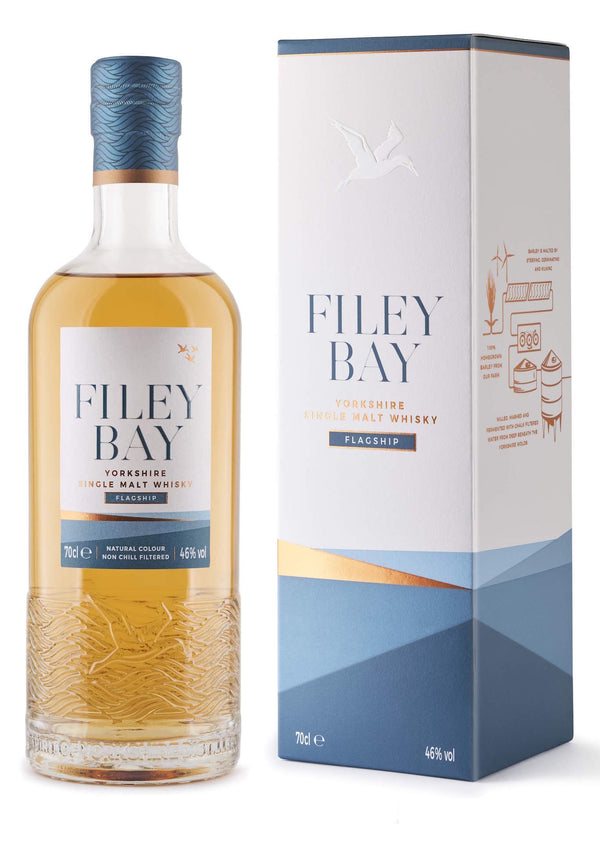 Spirit Of Yorkshire Distillery Filey Bay Flagship Single Malt English Whisky