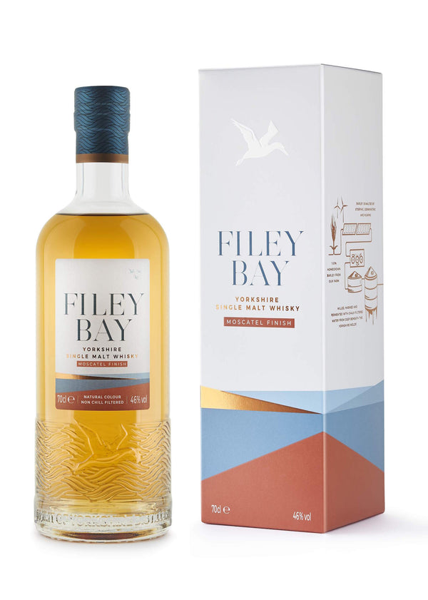 Spirit Of Yorkshire Distillery Filey Bay Moscatel Finish Single Malt English Whisky