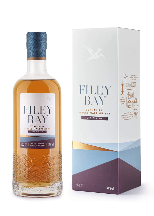 Spirit Of Yorkshire Distillery Filey Bay STR Finish Single Malt English Whisky