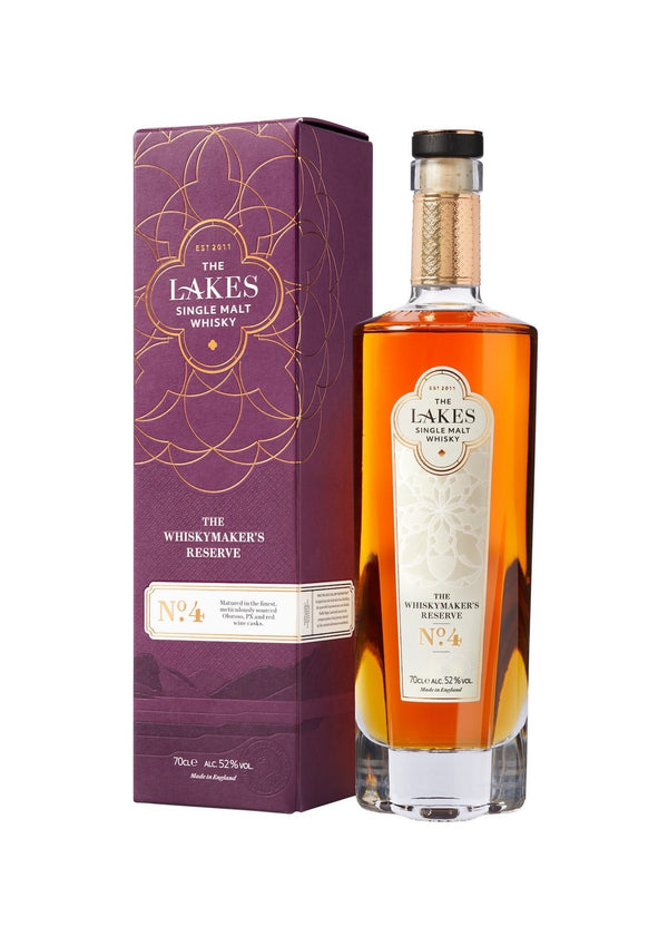The Lakes Distillery: Whiskymaker's Reserve No.4 Single Malt