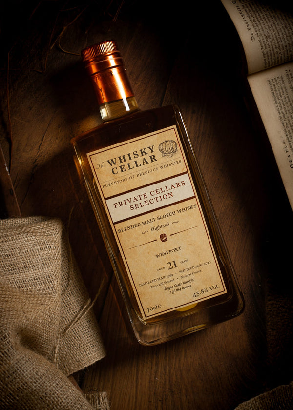 Westport 21 Year Old Blended Scotch Whisky from The Whisky Cellar