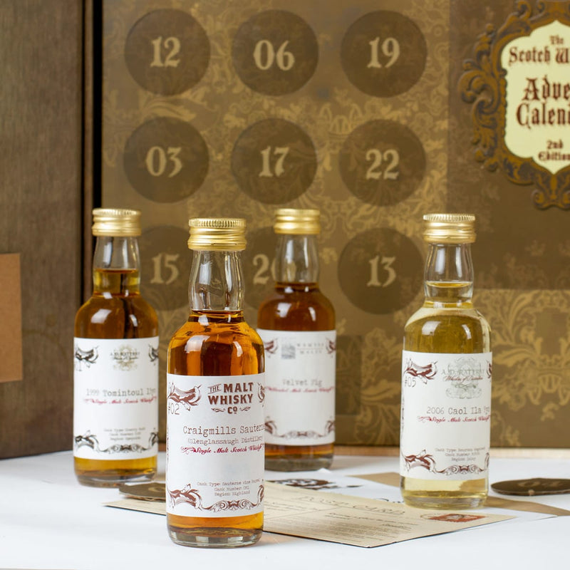 Luxury dram from scotch whisky advent calendar from Secret Spirits