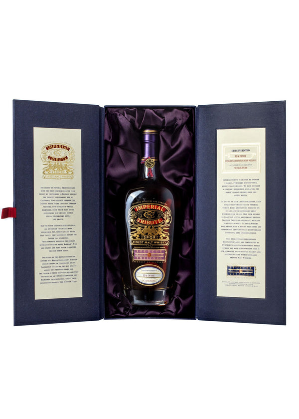 Scotch Gift from Imperial Tribute in luxury box