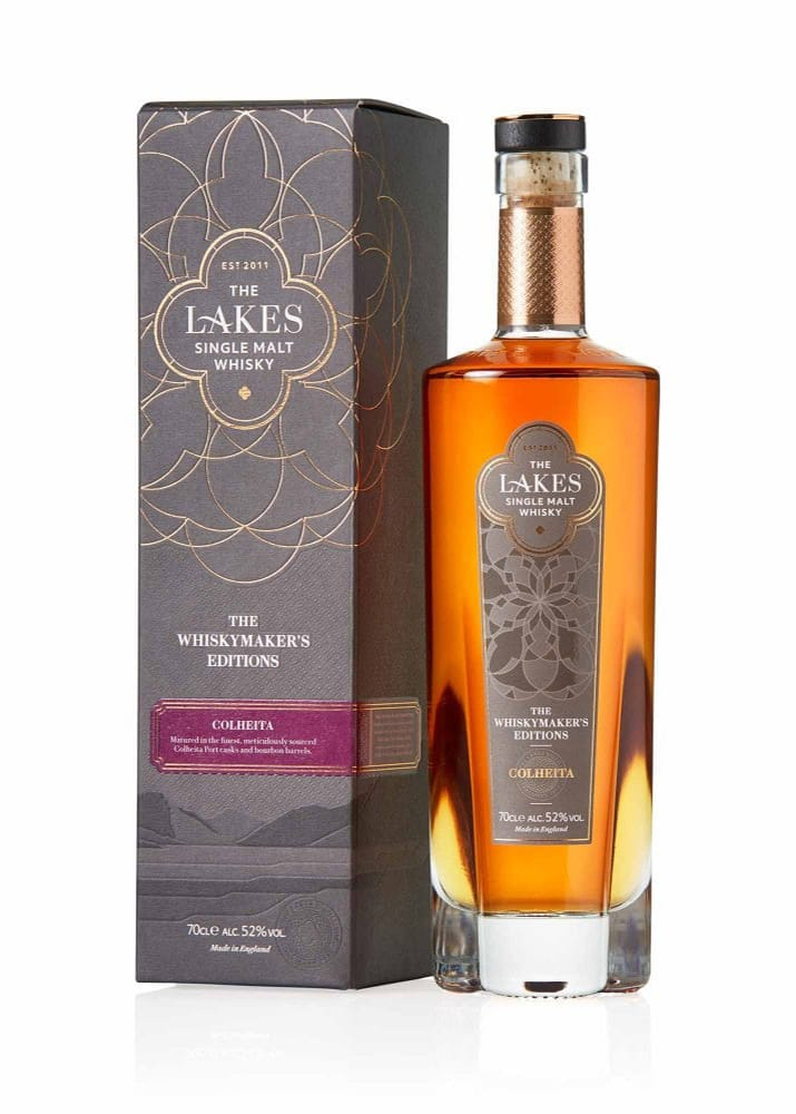 The Lakes Distillery: Whiskymaker's Editions - Colheita Single Malt Scotch Bottle and Box