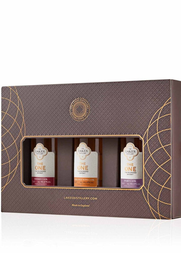 The Lakes Distillery: Whisky Collection 3 x 5cl Gift Pack