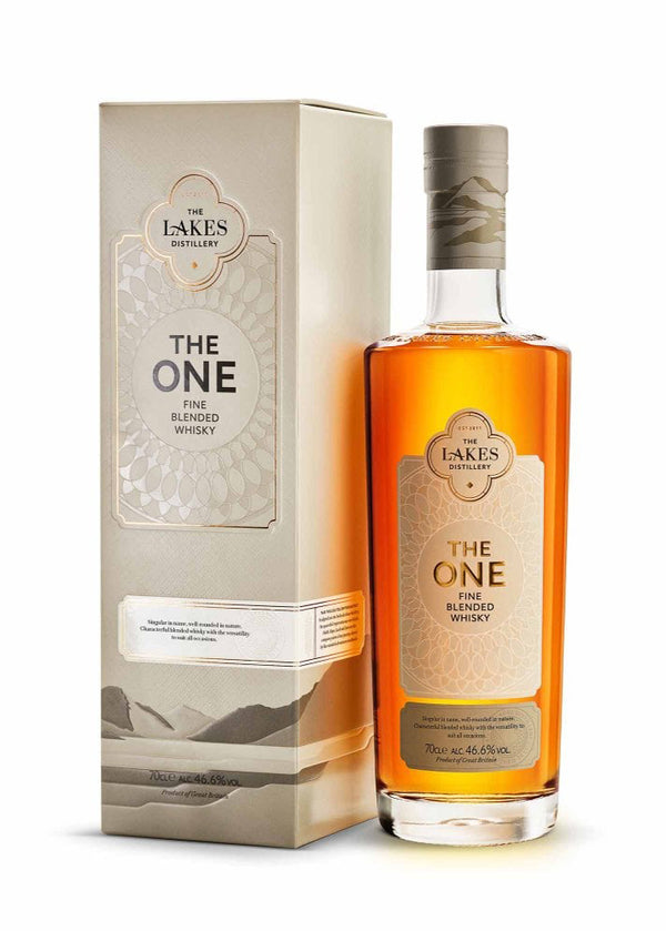 The Lakes Distillery: The One Fine Blended Whisky