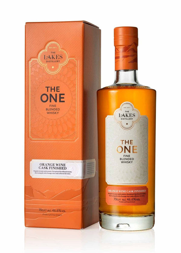 The Lakes Distillery: The One Orange Wine Cask Finished Whisky