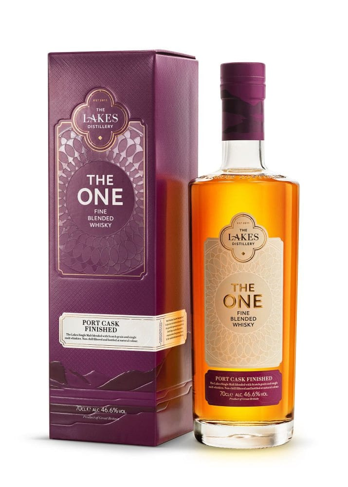 The Lakes Distillery: The One Port Cask Finished Whisky